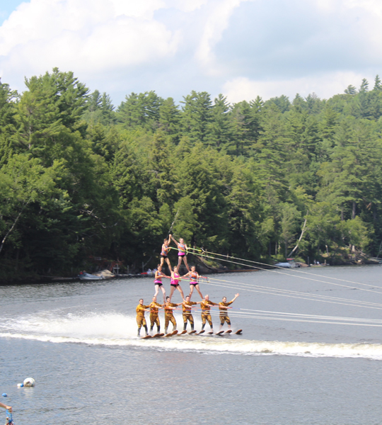 US Waterski Show team dazzles audiences with pyramids, barefoot waterskiing and more!