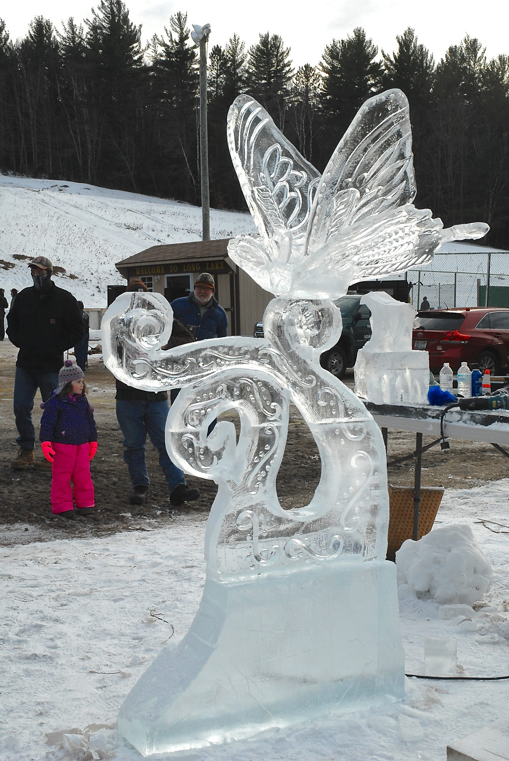 Ice Carving Demonstrations throughout the day