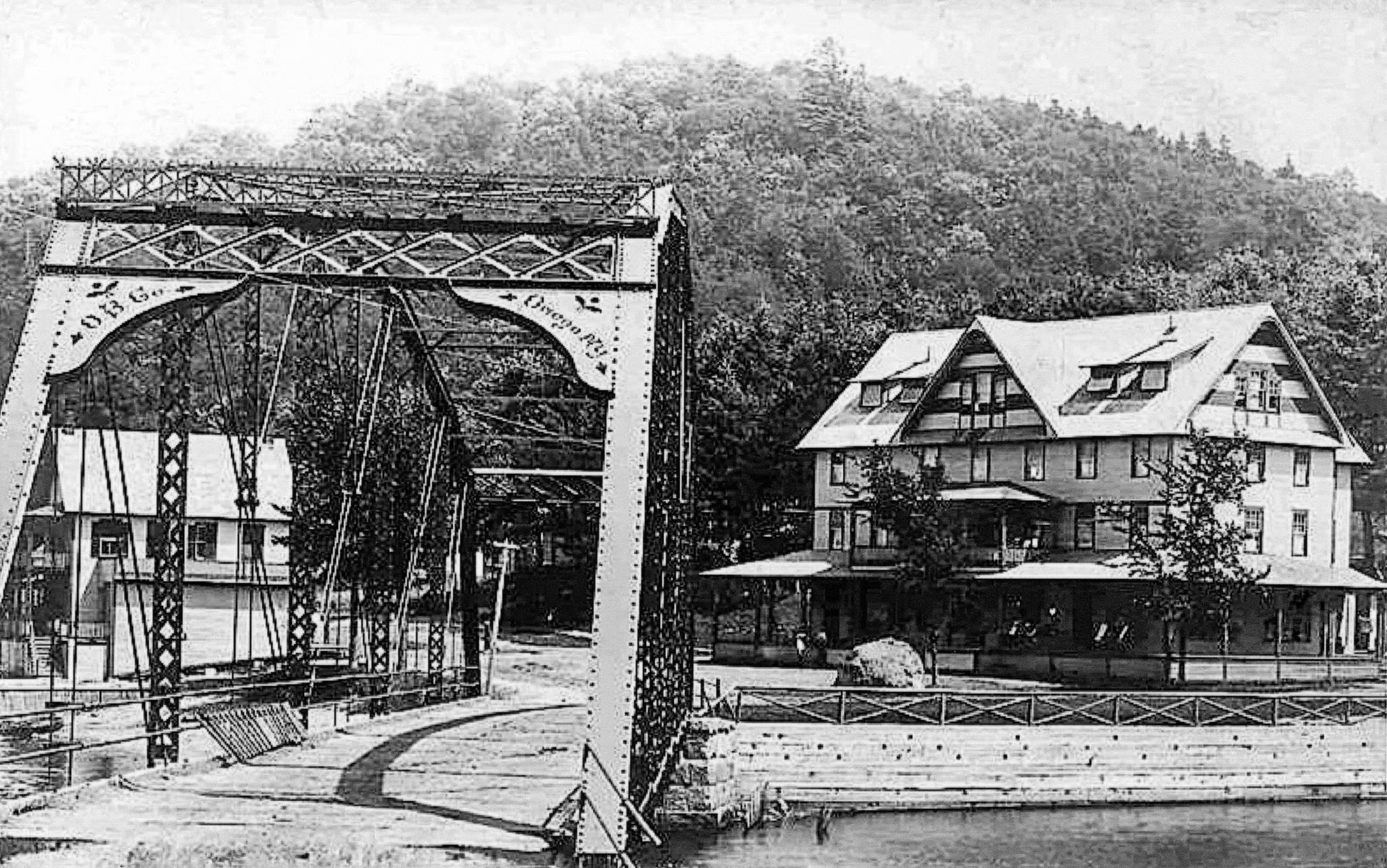 Historic view of the ADK Hotel