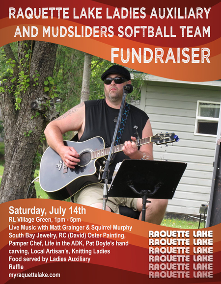 Fundraiser Event in Raquette Lake