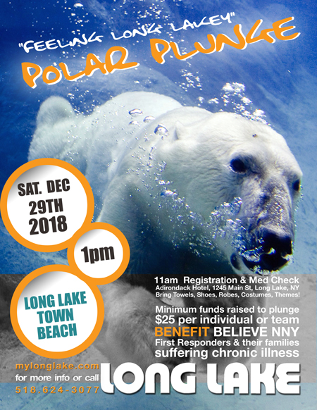 Polar Plunge Long Lake NY December 29th 2018
