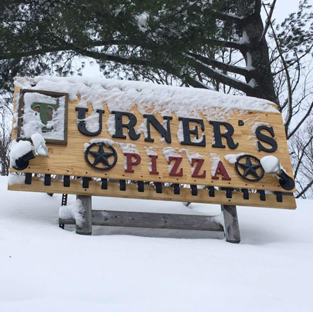 Turner's Pizza in Long Lake, NY