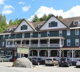 Adirondack Hotel on Long Lake Lodging property