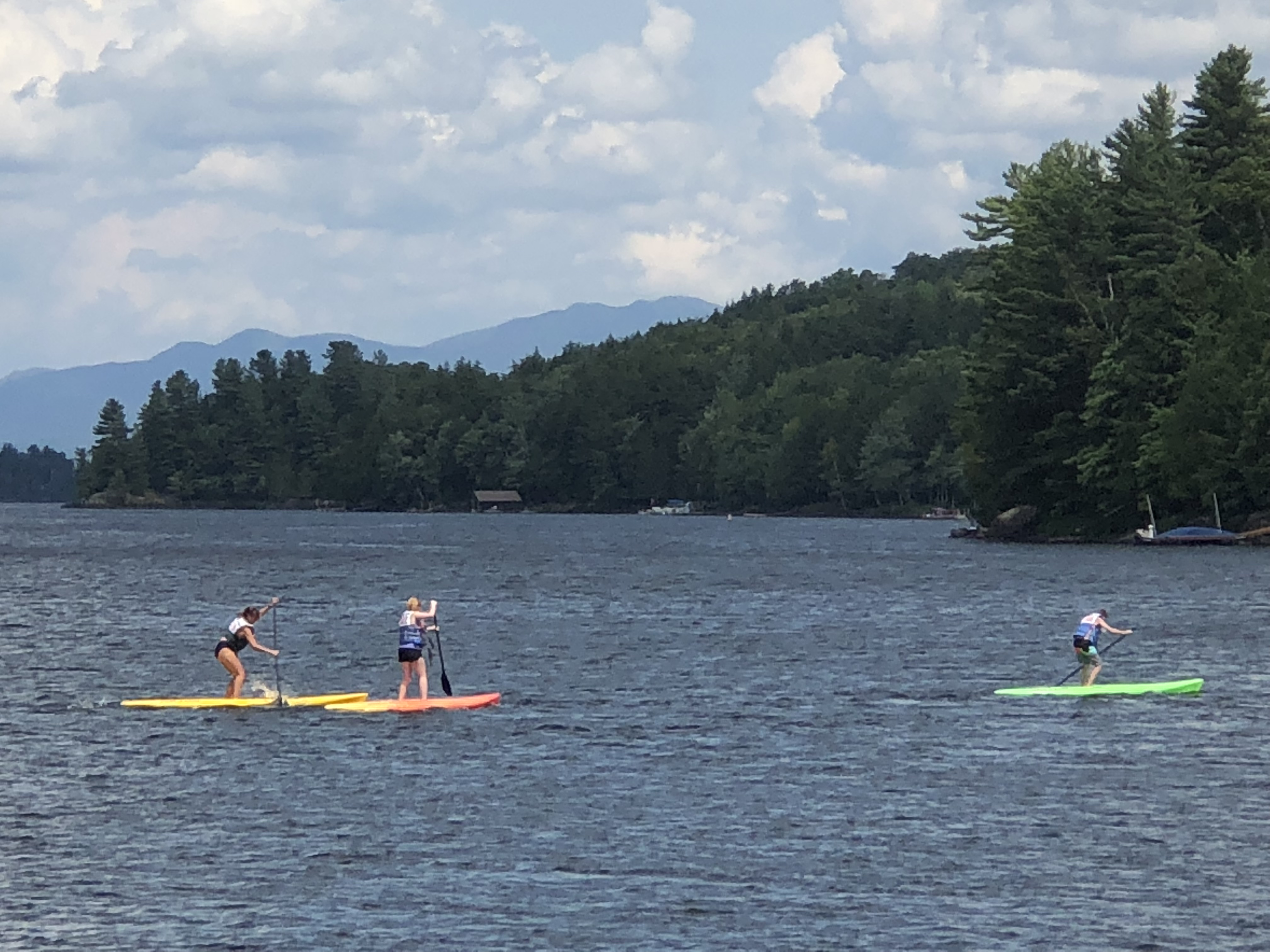 Paddling Olympic Competition