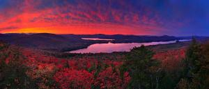 Esper Lake Pleasant firey red sunset treetop 1200px (1)